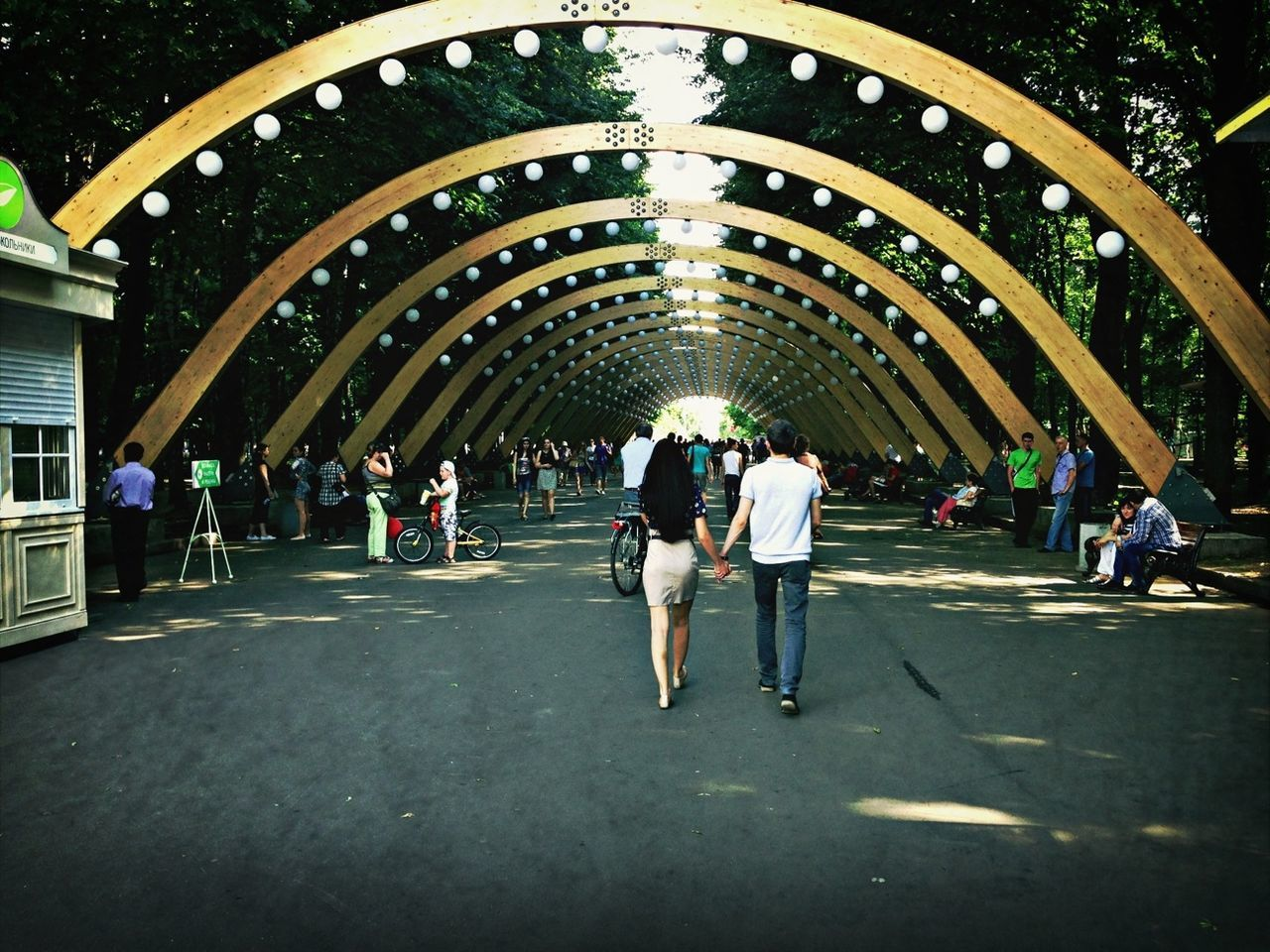 Beautiful stock photos of moscow, Archway, City Life, Convention Center, Day