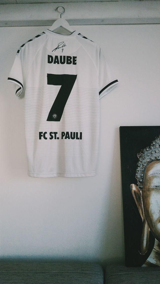 FCSP Fcstpauli 1910 YNWA Daube White Football Sign Stpauli