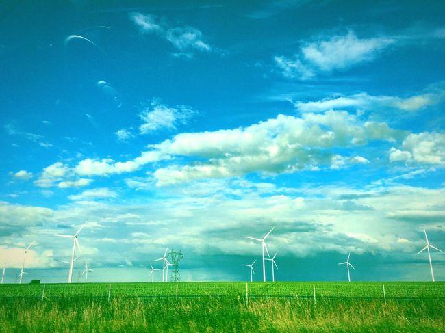 Road Nord De La France Green Sky_collection Sky Lovers Skyporn Voiture Sur La Route