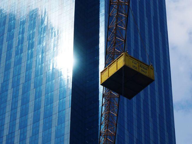 Construction Urban Urban Landscape Urban Development City Crane Dramatic Angles TakeoverContrast