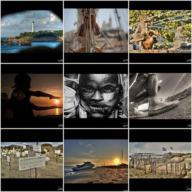 Last 9....📷🔝 Le joli phare de Biarritz 🏄, le vieux port ⛵, un peu de fraicheur à Aix en provence et sa Rotonde 🍸, une série en direct du bout du monde, la camargue et ses plages sauvages 🌊 un joli sunset avec mon fils 🌞, du black street art ✊ et un selfie Converses 👣...et hop 9 clichés supplémentaires ✊📷 ▶▶▶▶▶▶▶▶▶▶▶▶▶▶ ▶ 👉 Followme @karimsaari 😊 ▶Canon 5d / Gopro / Note 3 ▶ Made in marseille © karimsaari mes9dernieresphotos last9 europe_gallery nature landscape_lovers landscape_capture nature_shooters ig_world ig_captures ig_europe canon_official tourismepaca rsa_nature igers naturelovers hdr_professional calanques photooftheday picoftheday igaddict paca tribegram streetphotography inspiring_photography_admired