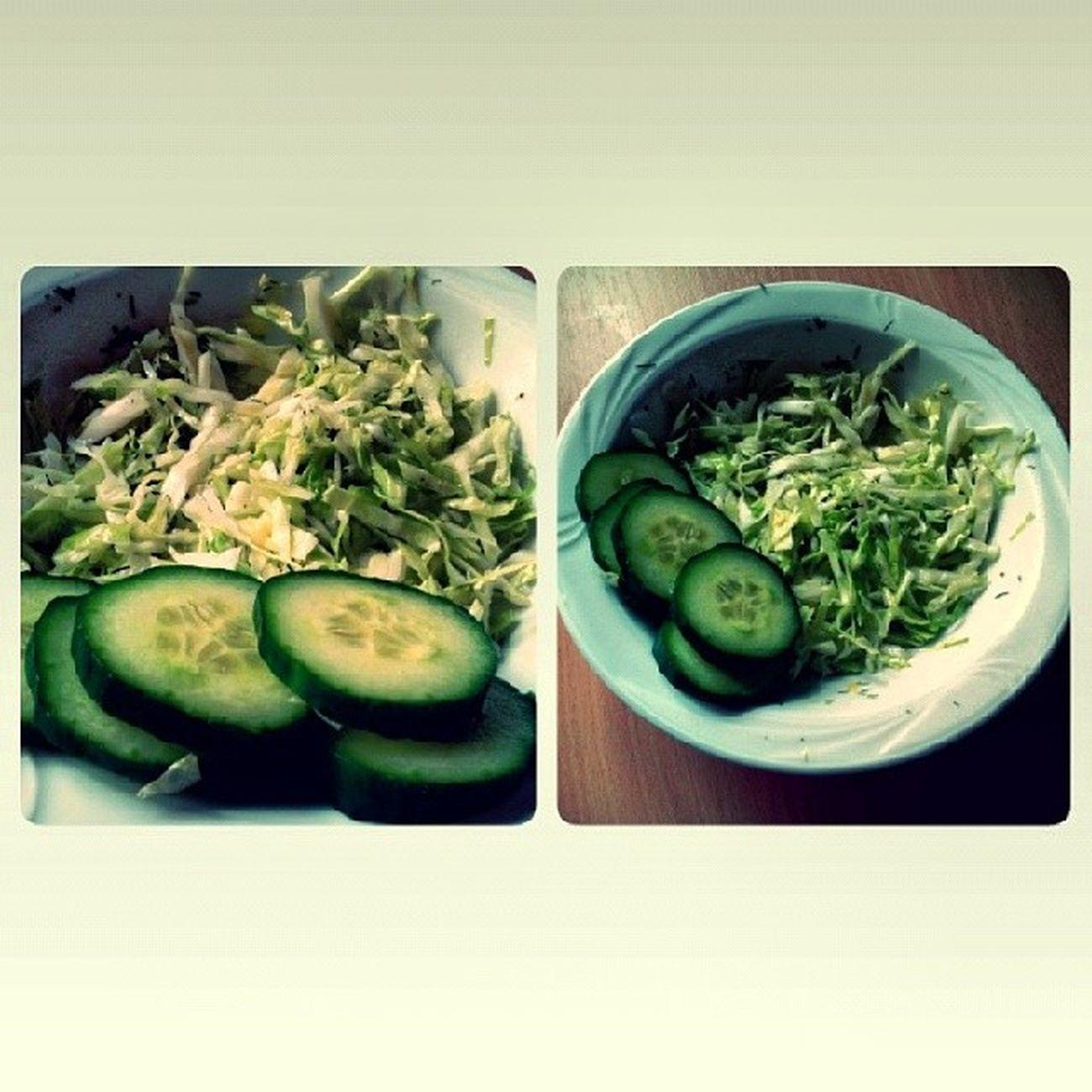 огурки капустка салатик нямням