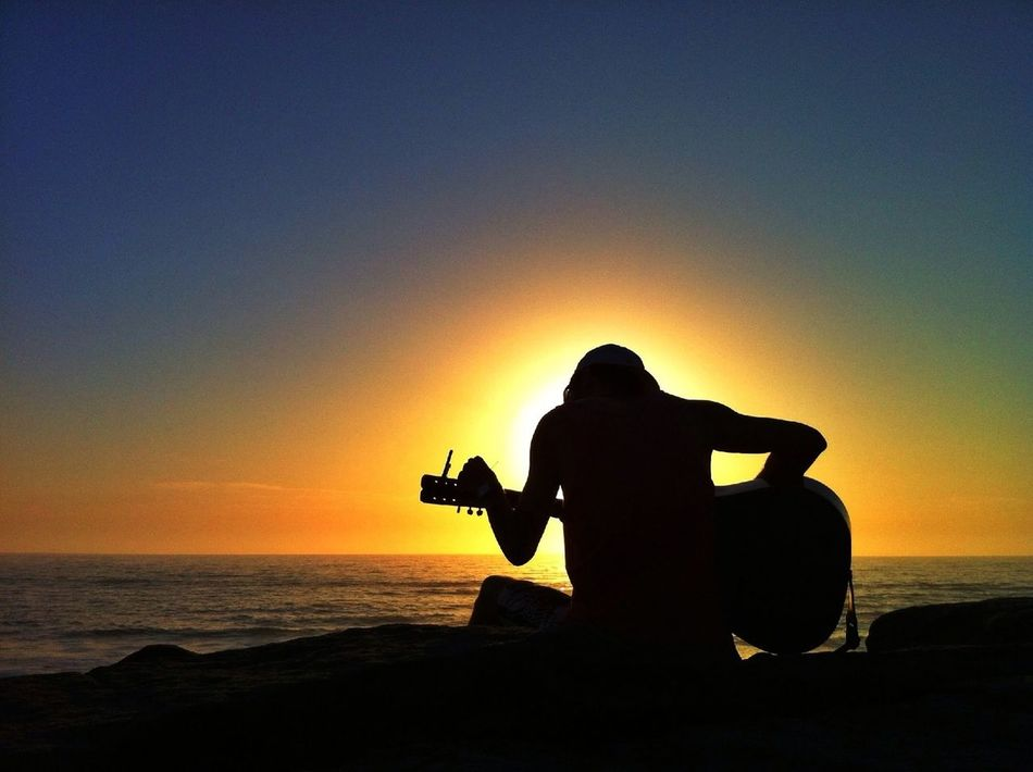 Beautiful stock photos of guitar, Arts Culture and Entertainment, Australia, Beach, Beauty In Nature