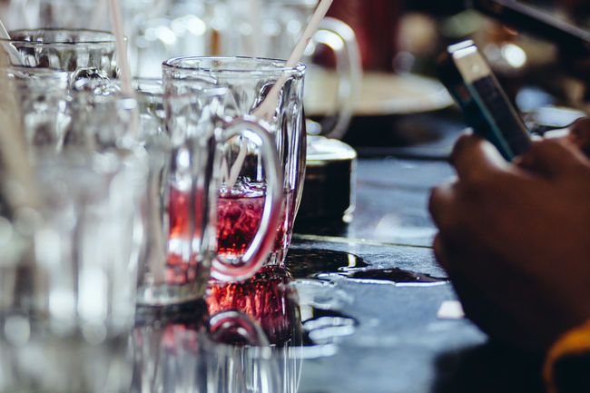 Alcohol Arrangement Choice Close-up Drink Drinking Glass Focus On Foreground Food And Drink Glass Glass - Material Indoors  Music Occupation Preparation  Refreshment Selective Focus Still Life Table The Enhanced Human Transparent Wine Wineglass