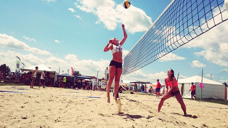 Beacvolleyball vol2. Volleyball Beachvolleyball Beach Photography Summer Summer Views Throwback Good Times Efott2014 Efott Fivb Fun