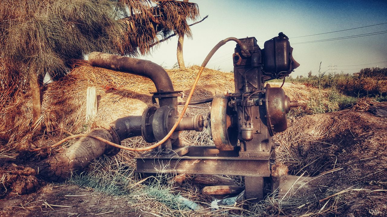 Irrigation Equipment Irrigation Water Earth Soil Warm Water Theegyption Countryside Plants Samsung Galaxy S5 Samsung Galaxy Note 5 Egypt Alexandria Egypt Galaxy Note 5 Snapseed Nature Outdoors No People Water Nature Sky