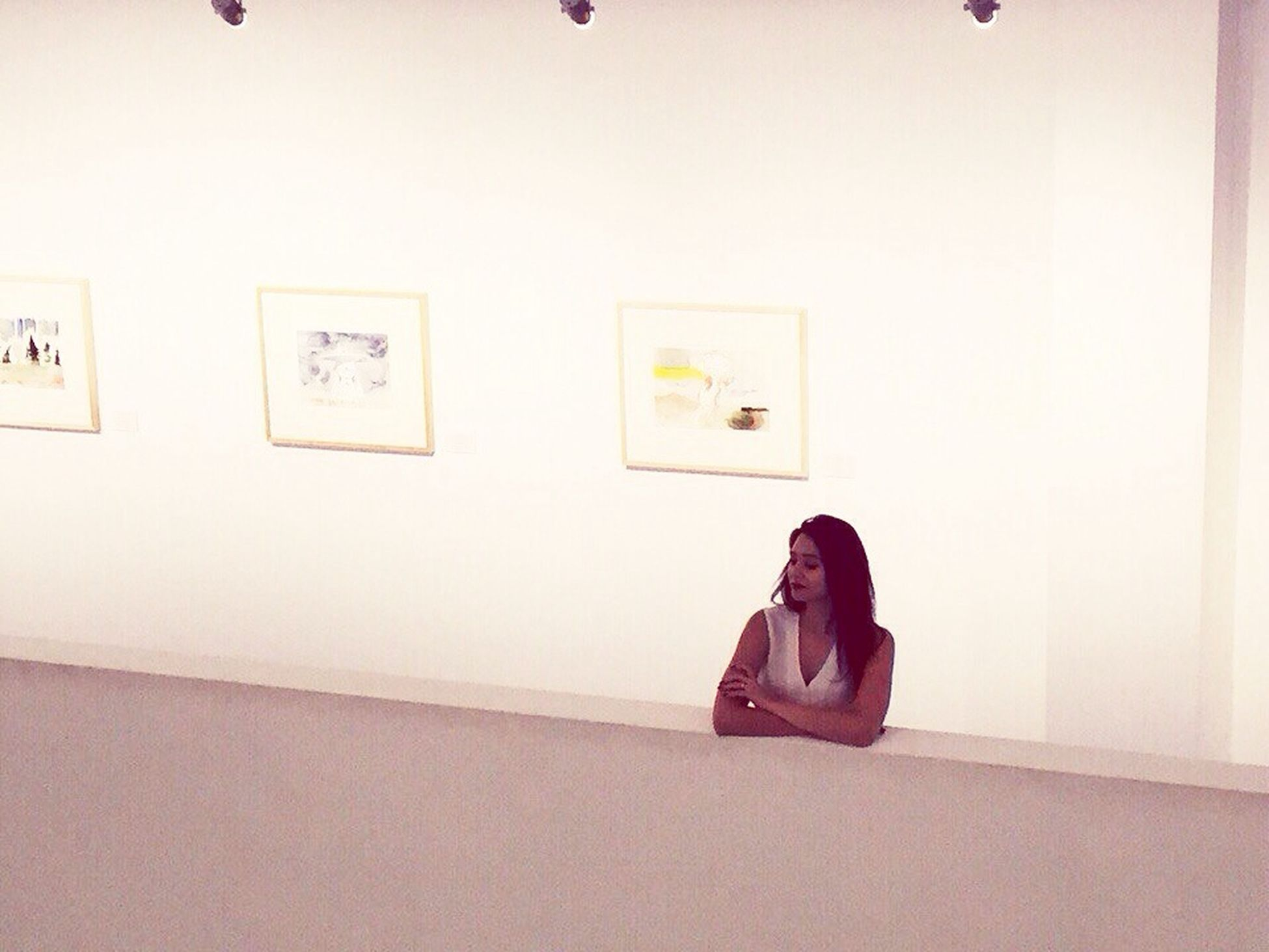 Russian Girl Beuty Minimalism White ArtWork Artmuseums