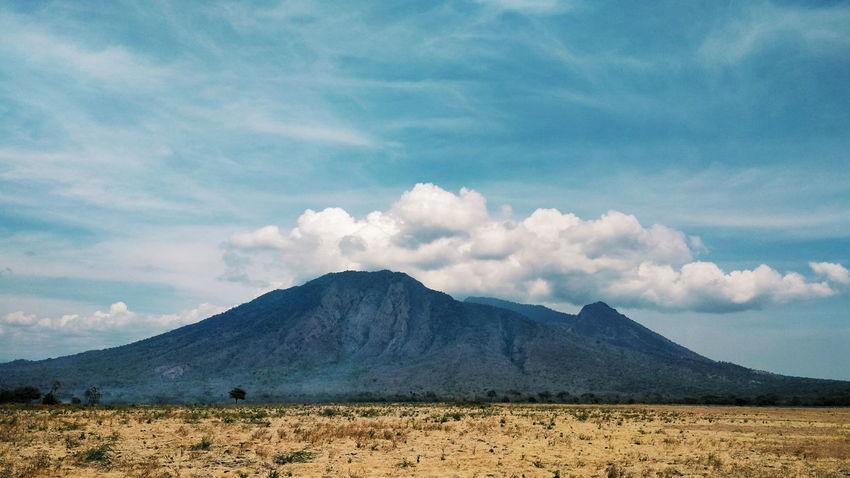 EyeEm Selects Nature Cloud - Sky Sky Landscape Mountain No People Beauty In Nature Balurannationalpark Savanna