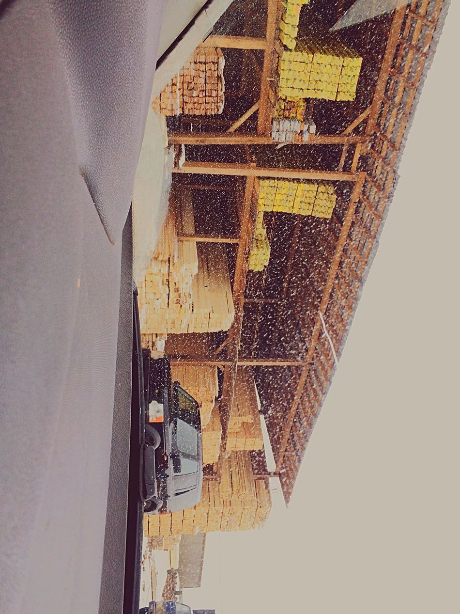 Москва Лес дрова зима