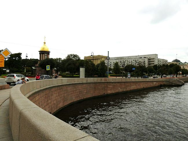 Troickii Bridge Neva River North City Architecture Building Exterior River Water Waterfront Cloud - Sky Walkway Riverbank Canal Day Cloudy City Life Best City In The World Famous Place Colors Of Sankt-Peterburg People And Places Architecture Sankt-Petersburg Russia History