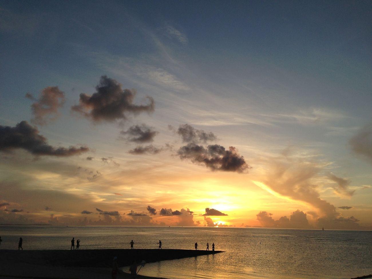海 ビーチ Sunset