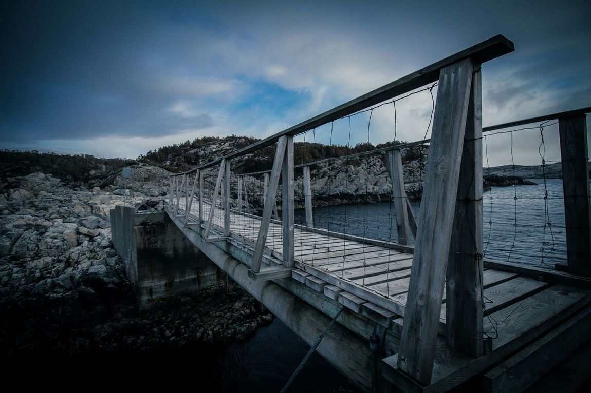 Bridge Crossing Fresh Air Fresh Air Nordicsea Seaside