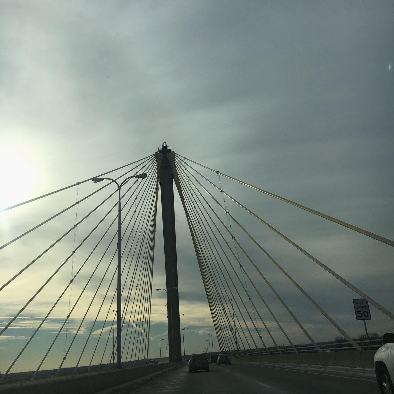 Suspension Bridge Bridge - Man Made Structure