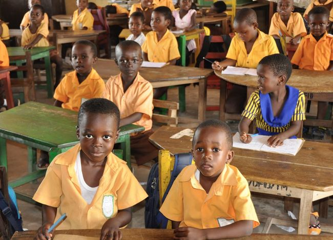Accra Africa Boy Childhood Class Developing Country Education Form Future Ghana Girl Instruction Learn Learning Pupil School School Uniform Schoolboy Student Students Teacher The Color Of School Tuition