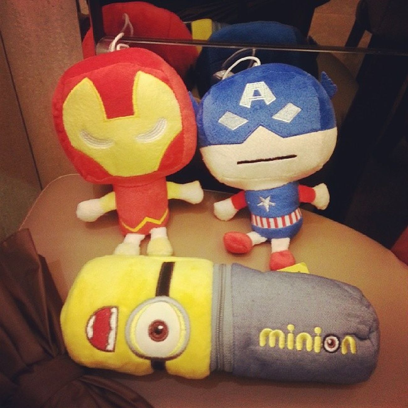 Captain american Iron Man Zhinsta