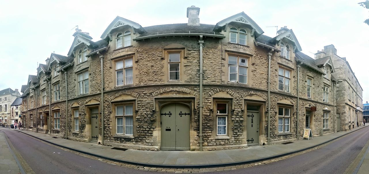 Street Panorama in Cirencester