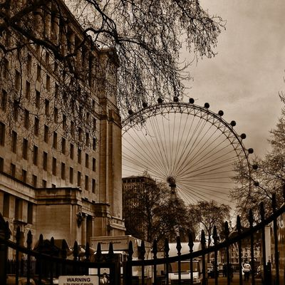 London eye at London,UK by Riverrise