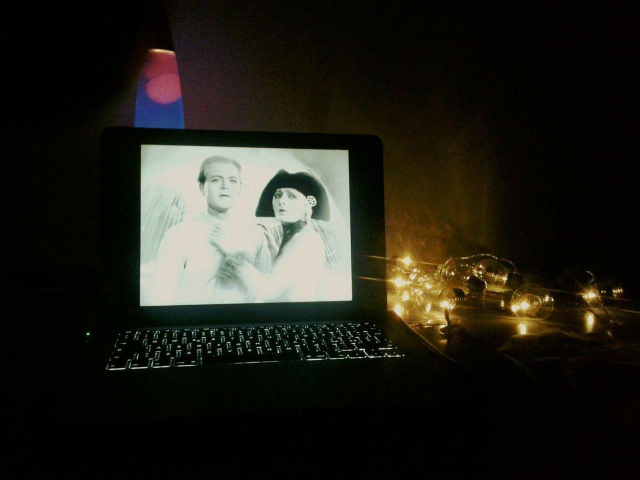 Metropolis Fritz Lang Mute Silent Film Blackandwhite Lava Lamp Lights Twenties Night
