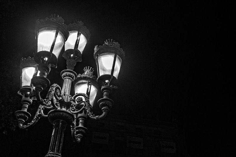 Rx100mk2 Black & White Faroleando Barcelonalove Nocturna