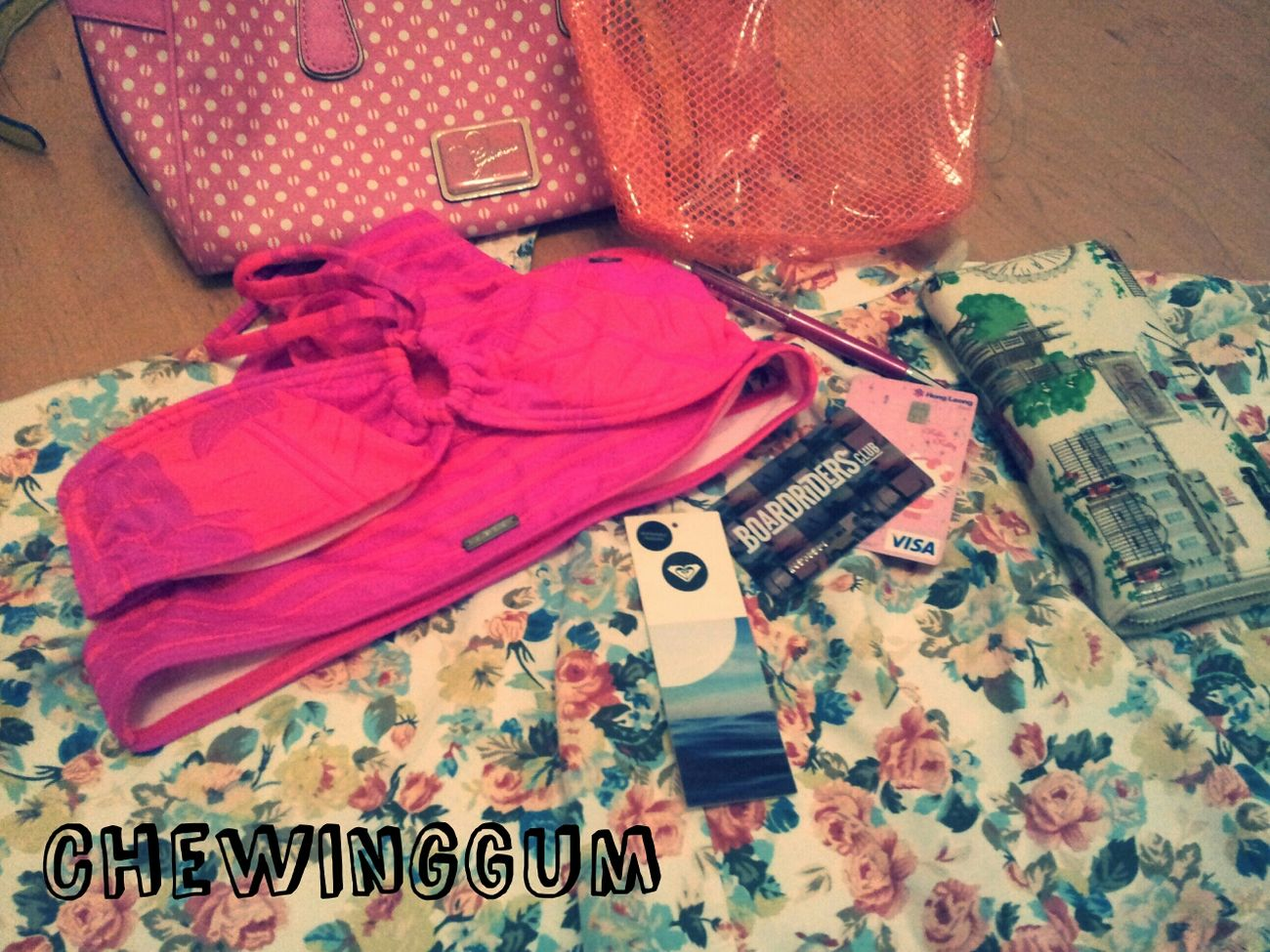 BWAHAHA chewinggum did some shopping :) Shopping JustMe