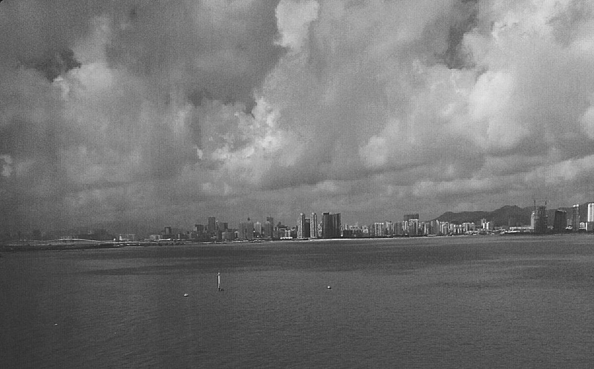 endless. Clouds Rainy Days Sea Black And White Collection  Black & White Cloudporn Zhuhai Internship Typhoon