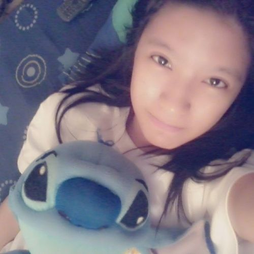 just woke up :) Bored Stuckathome Stitch