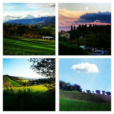 Landscape Clouds And Sky 4of2012  Picframe