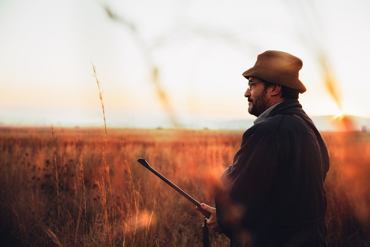 Beautiful stock photos of hunting, 54-59 Years, Beauty In Nature, Cartridge, Casual Clothing