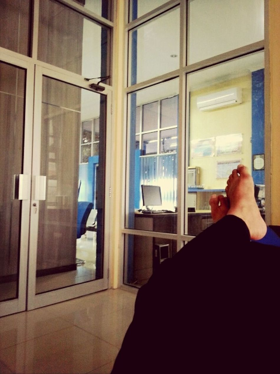 After a hard day at office Foot Tired Office Hours