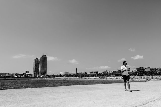Adventure Architecture Barcelona Beach Black & White Blackandwhite City Documentary Europe Lifestyles On The Way Outdoors Portrait Showcase July Sky Tourism Travel Travel Destinations Traveling Vacations