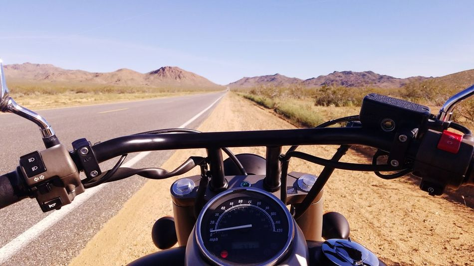 No People Sky Day Motorcycle Transportation Outdoors Driving Speed Handlebar Speedometer Mountain HondaShadow Honda Motorcycle Photography Motorcycle Trip Motorcycle The Way Forward Travel Barstow, Ca Barstowfwy Barstow Highway Nature Mountain Range