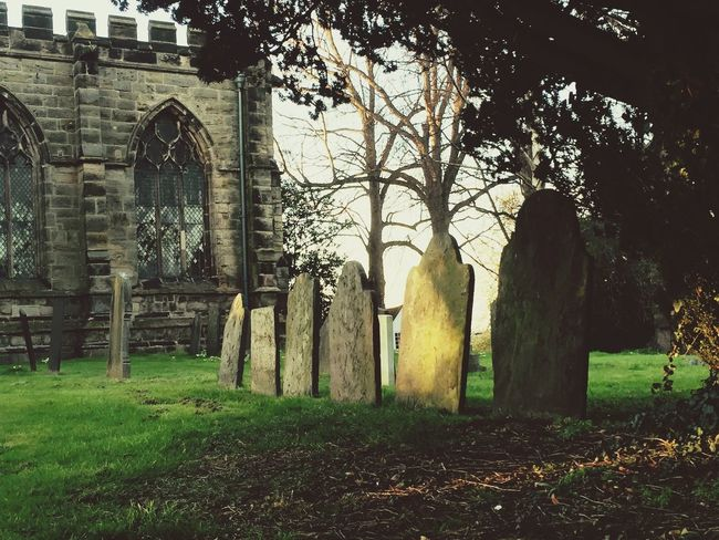 Graveyard Beauty Graveyard Church Leicestershire Gothic First Eyeem Photo Gothic Beauty  Gothic Architecture Gothic Church Light And Shadow Grave Churchporn Village Life Dusk Dusk Colours Peace And Quiet Non Urban Scene No People Tranquility Trees IPhoneography