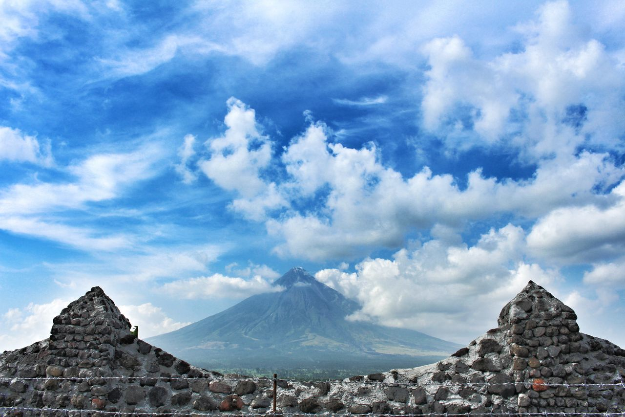 Perfect cone Mountain Cloud - Sky Sky Outdoors Landscape Travel Destinations Nature Adventure Beauty In Nature Rock - Object No People Sunlight EyeEm Best Shots Mayon Volcano Albay Mayon Volcano Philippines Mayon Volcano Daraga, Albay Philippines Mayon View MayonVolcano😍🌋 Mayon Wonder Albay, Philippines Philippines ❤️ Phlippines Photography