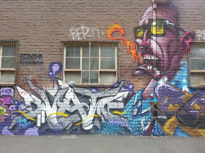 Graffiti Streetart Wildstyle Dvate & Gent
