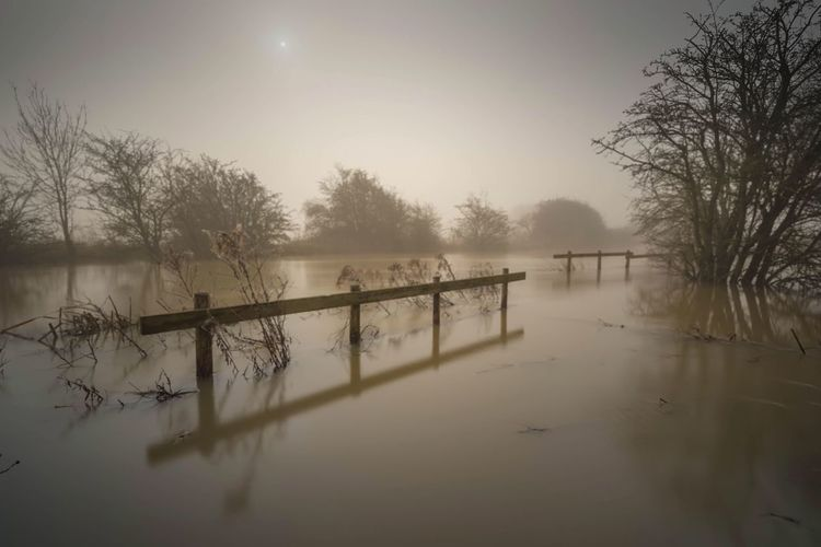 Floods & Fog Irthlingborough Showcase: March Flood Foggy Morning Fog Foggy Sunrise Riverside River Flood Water Landscape Landscape_photography Sunrise Misty Morning Great Britain Nature Photography Long Exposure Beauty In Nature Waterscape Naturelovers Flooded The Great Outdoors - 2016 EyeEm Awards
