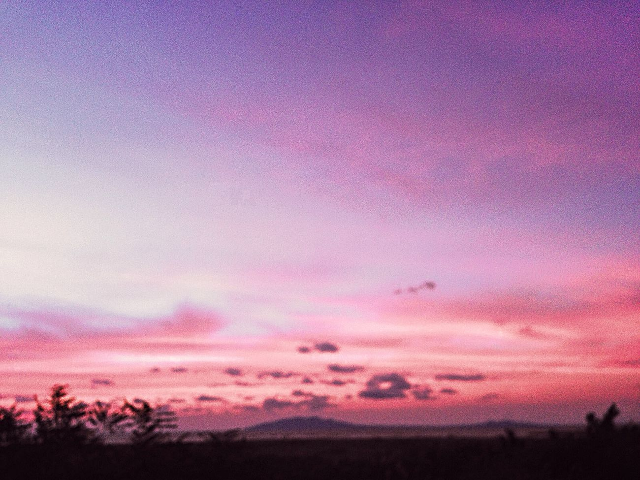 IPhone IPhoneography Mobilephotography Colors Of Nature Pink Color Sunset Nature Purple Beauty In Nature Sky Colors Beauty In Nature Light And Shadow EyeEm Nature Lover EvningGlow Evning Sky Sanset Horizon My Year My View Akita