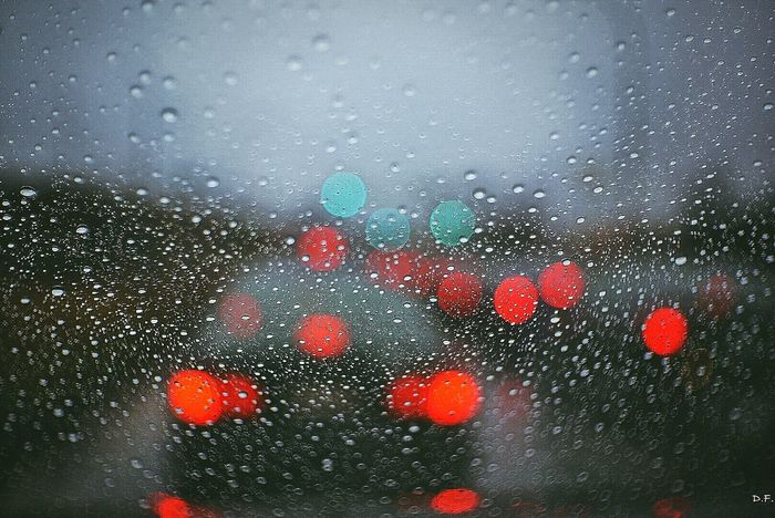 Raindrops RainyDay Frommycar Bokeh Traffic Manuallens Fujian 35mm