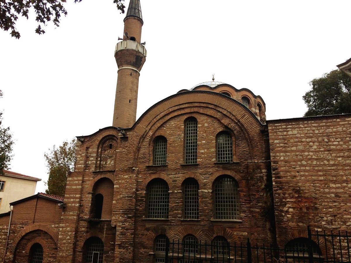 Built Structure Architecture Artistik Mosque Kalenderhanemosque Minaret Artandculture Camii Mosquearchitecture Earlybyzantinechurch (null)Building Exterior Arch Sky Low Angle View No People Outdoors Clear Sky Place Of Worship First Eyeem Photo