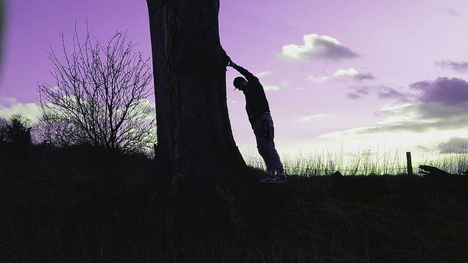 Purple Sky.. Deep Moment Tree Eye Em Nature Lover Awesome_shots