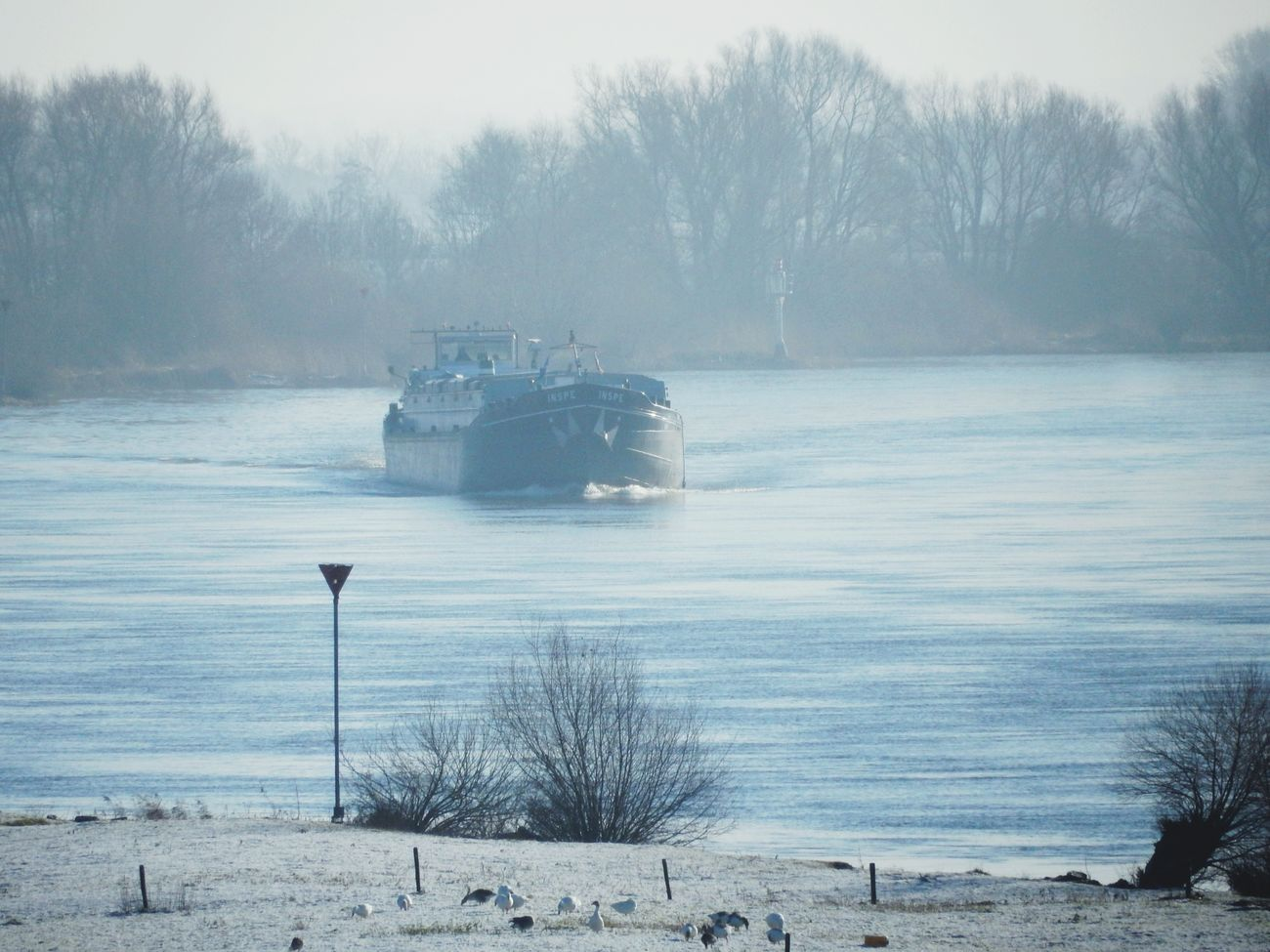 IJssel in de winter