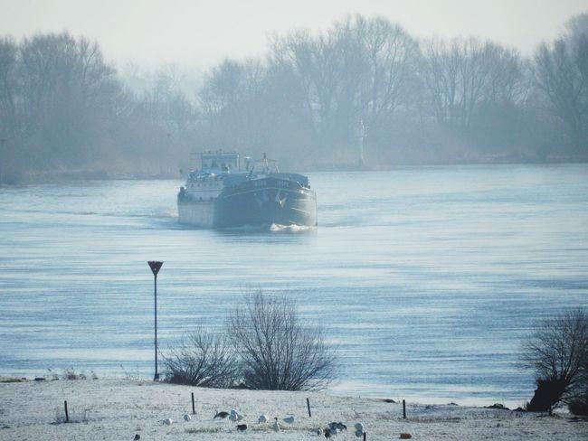 IJssel in de winter
