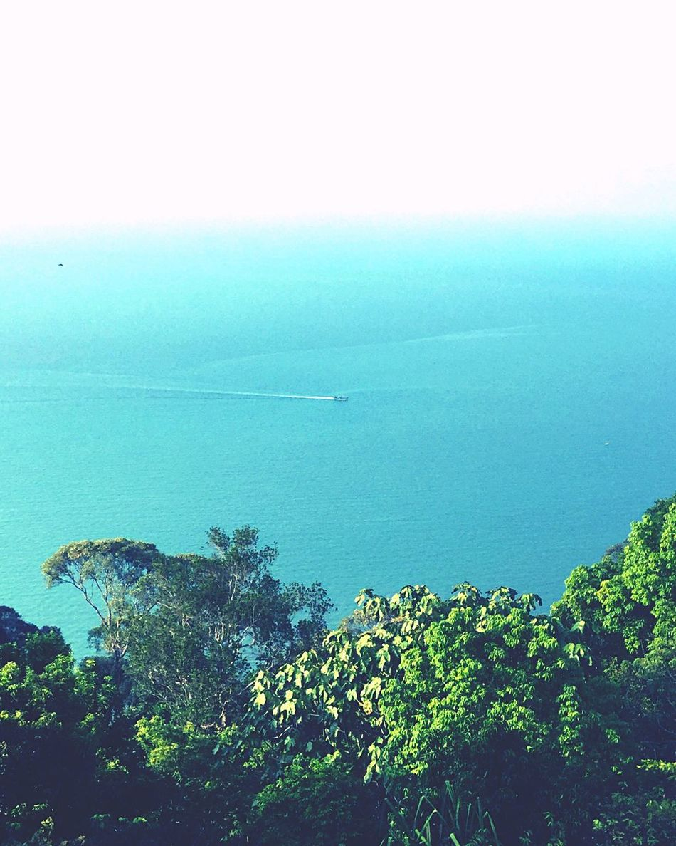 Malaysia Lonely Boat Monkey Beach Penang Lighthouse View From The Top Islandlife As I See It Tricolour Living In A Dream Jungle Jungle Beach Light