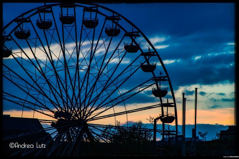 Zürich Zürisee Bynight Canonphotography Canoneos Riesenrad Sunset Cloud