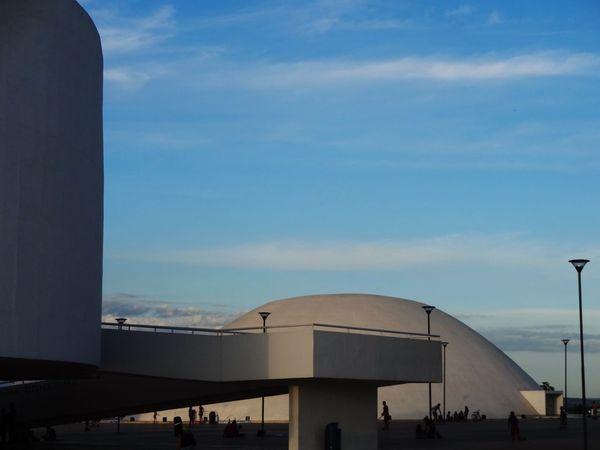 Centro Cultural Oscar Niemeyer - Goiania City. Goias State. Brazil. Architecture Art Architecture_collection Goiânia Goias Museum