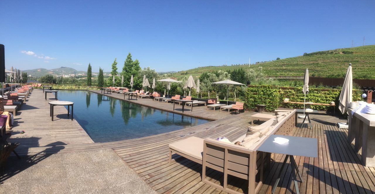 Beauty In Nature Day Douro  Mountain Nature No People Six Senses Spa & Resort Sunlight Swimming Pool Yacht
