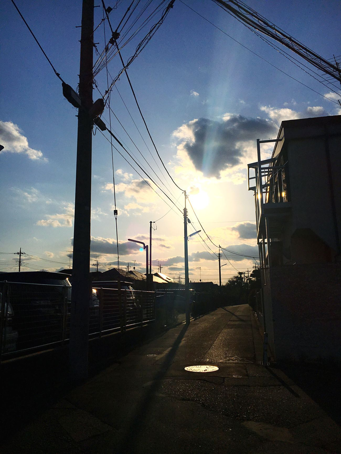 Sunlight Sky Cloud - Sky Tokyo Japan Architecture No People Nature Clear Sky Town Winter