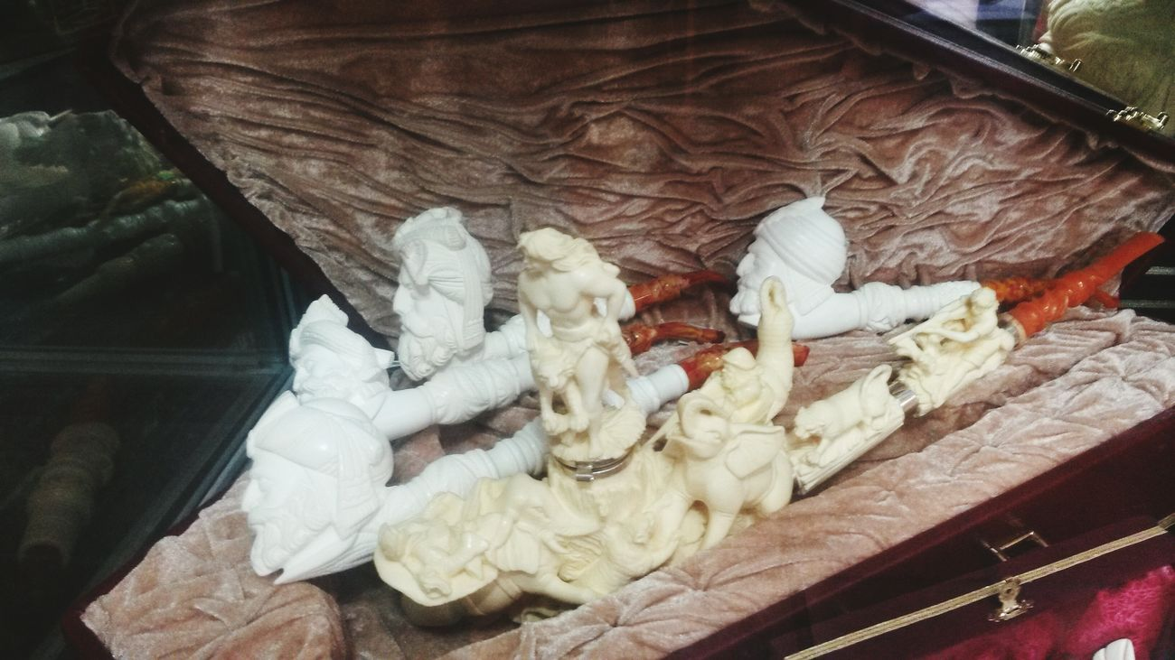 Pipo Meerschaum Natural Stone Handmade