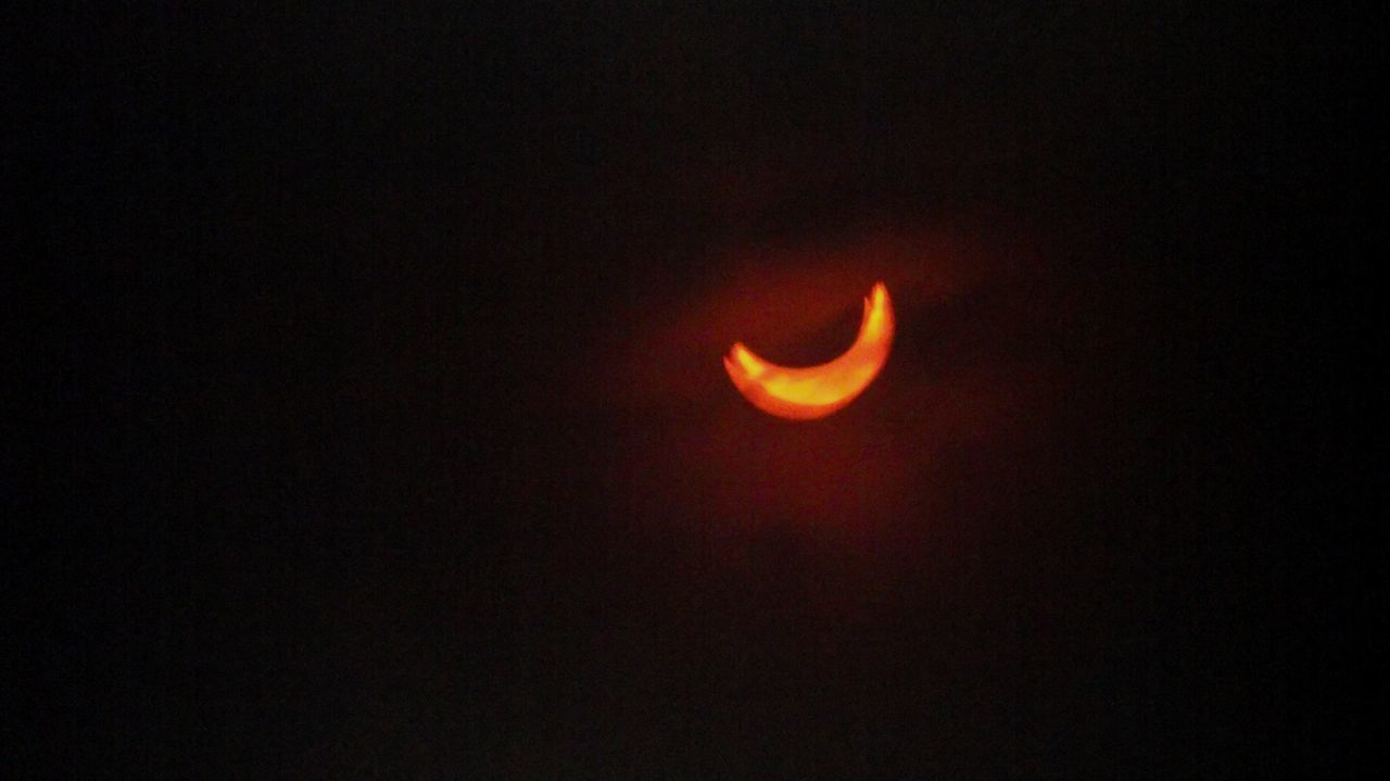 Pt. 1: The Beginning. Eclipse Solar Eclipse Solar Eclipse 2016 Solareclipse Photography EyeEm Best Shots EyeEm Indonesia Shiraiko_pics Be A Storyteller Through Photographs Livefolk Have You Taken One? Gmt2016 Sun Moon Livefolksindonesia Discover Indonesia Partial Solar Eclipse Bandungbanget Bandung Pride When The Sun Meets The Moon Allshots_