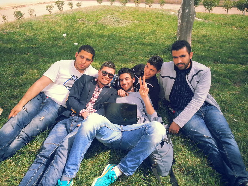 Friends Friendship Hanging Out Tebessa University Chikh Larbi