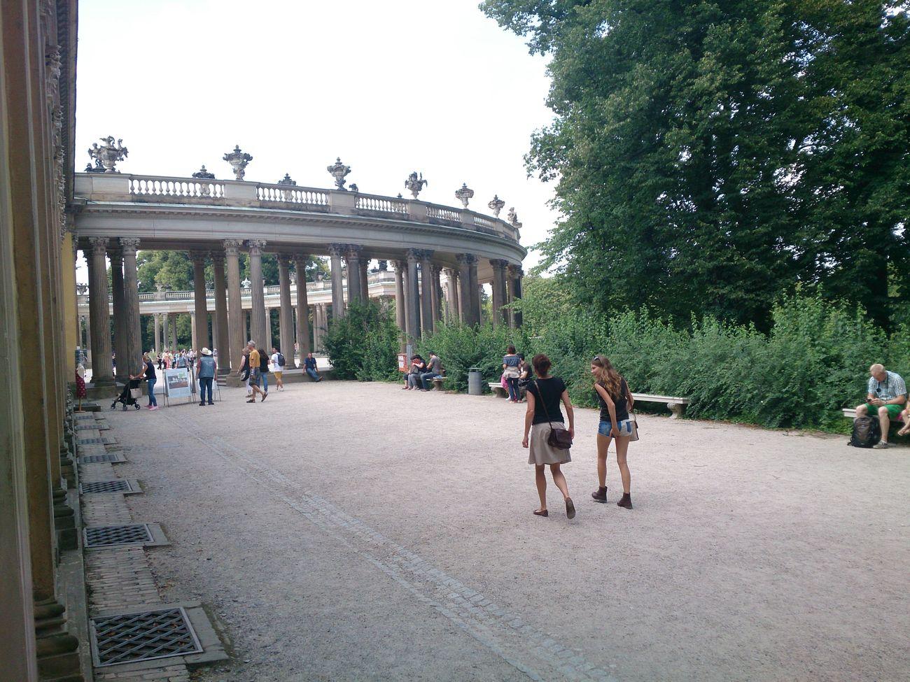 En los Alrrededores de otro de los Palacios  que hay en la Ciudad De Potsdam en Berlin